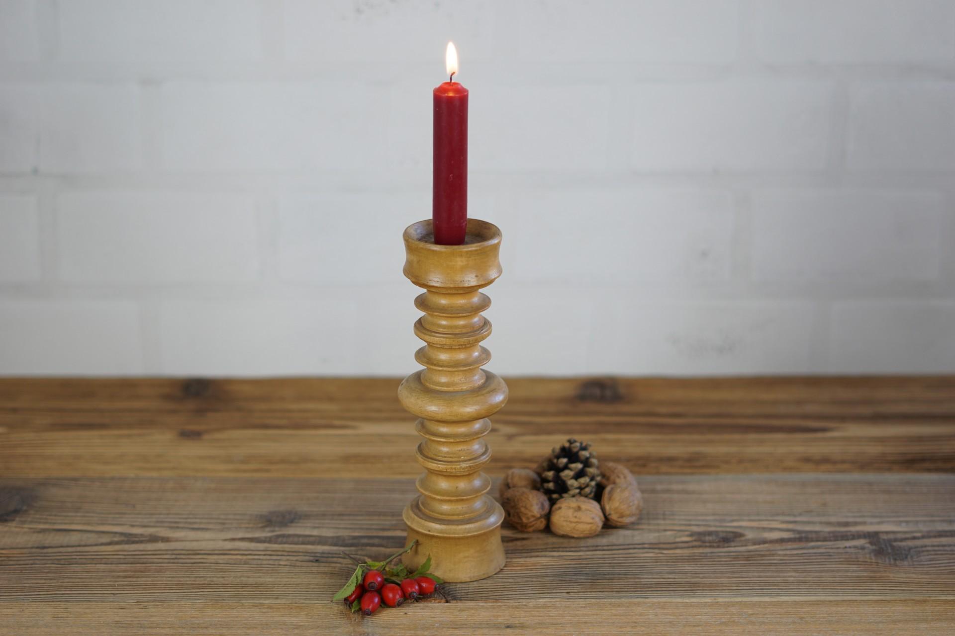 Kerzenständer aus Holz groß